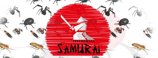 Serviços Dedetização Samurai